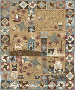 titched by me lynette anderson patchwork quilt sewing room salle de couture frienchip star yoyo wool fabric appliqué quilt shop cat dog chicken flower abc