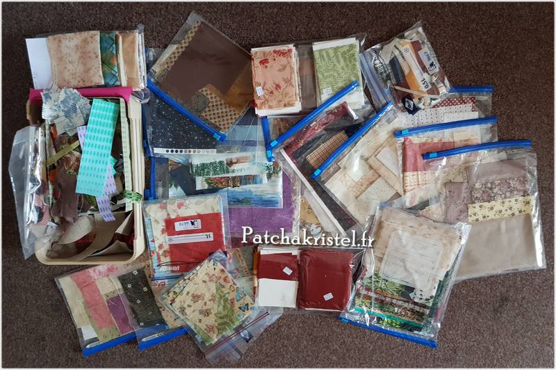 Ranger chutes tissus patchwork fabric How to Fold Fabric Storage and Organization Stash cleaning and folding Organizing Fabric on Comic Book Boards - Muji Corolle - rangement de tissus patchwork scraps
