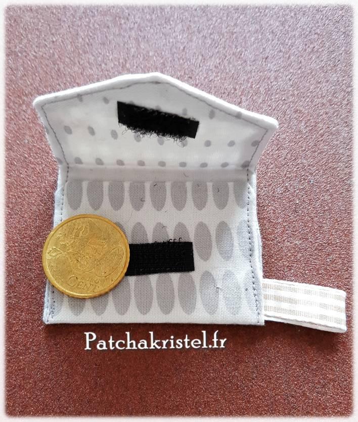 tutoriel porte monnaie pour porte clé diy tuto couture facile do it yourself little wallet keyring keychain key ring how to sewing