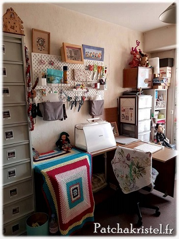 sewing room ranger tissu patchwork brother atelier couture ikea fabric storage sewing materiel organization